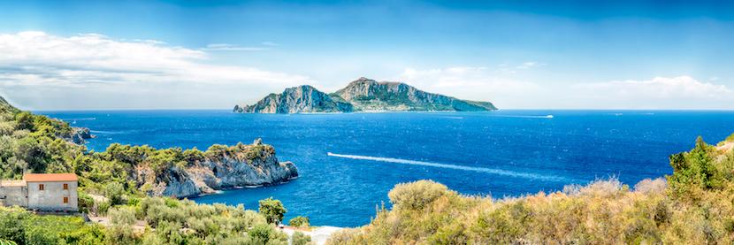 Vue de Capri