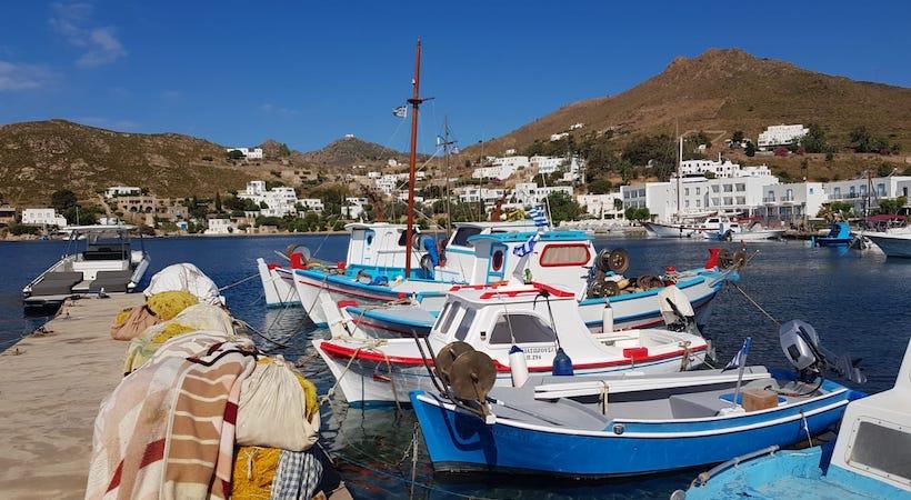 Port de pêcheur de Patmos