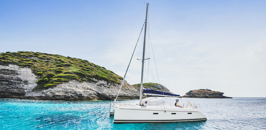 Catamaran privé
