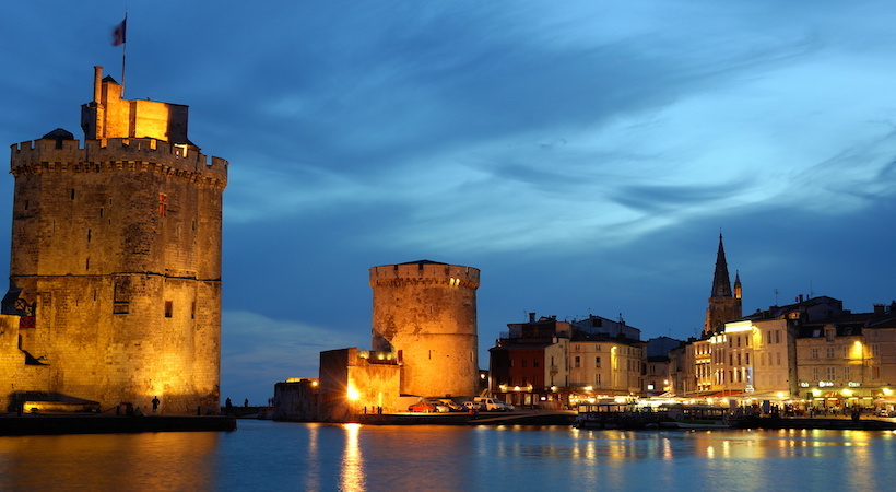 La Rochelle s'illumine la nuit