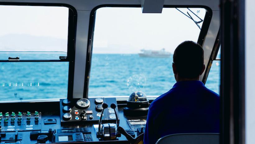 cabine d'un bateau