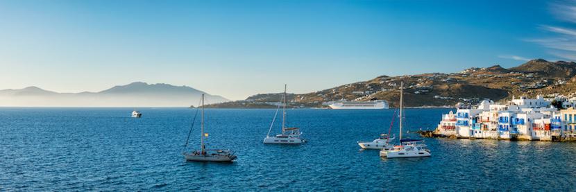 vue panoramique Grèce