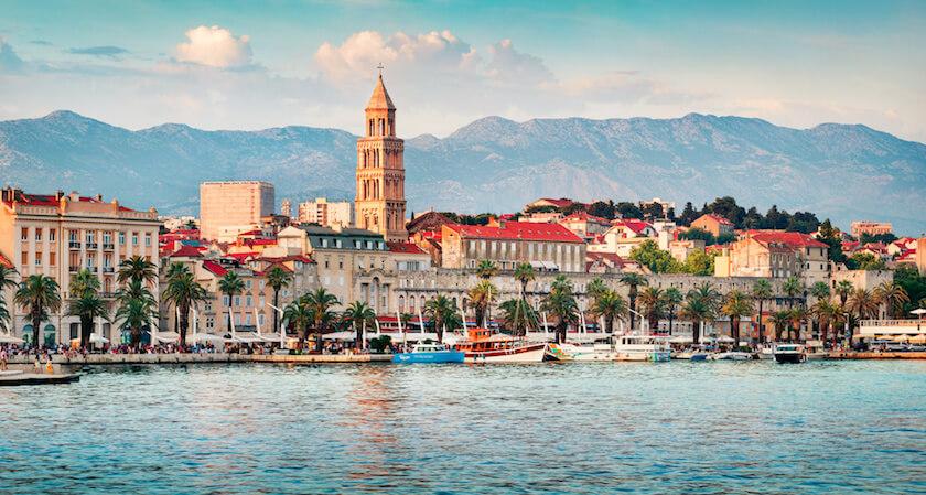 Vue sur Split