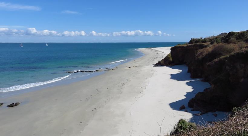 Spiaggia delle Grands Sables sull'isola di Groix