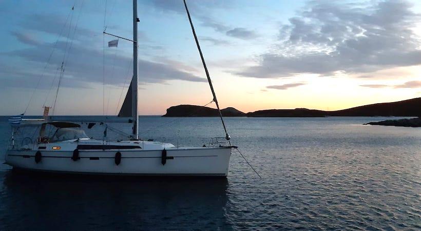 Voguer d'île en île dans l'archipel du Dodécanèse en voilier