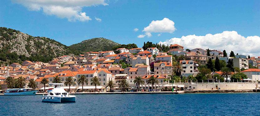 catamaran en Croatie