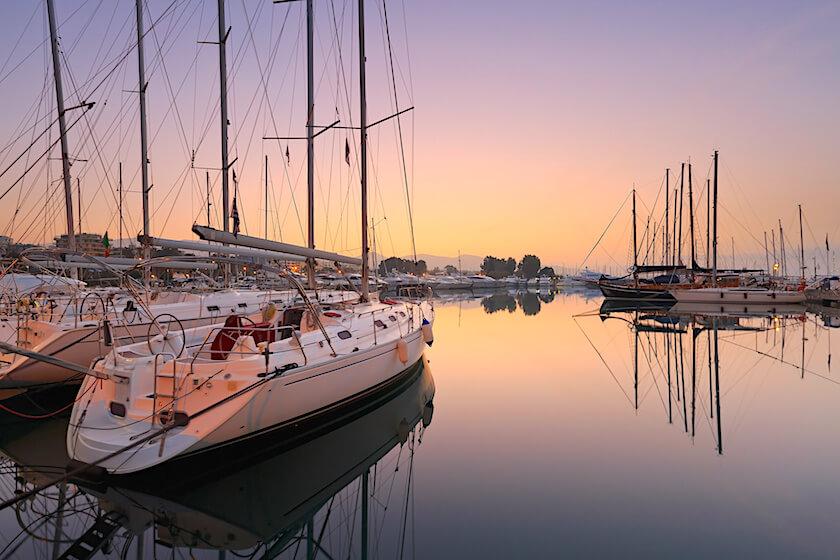 Le port de Kalamaki