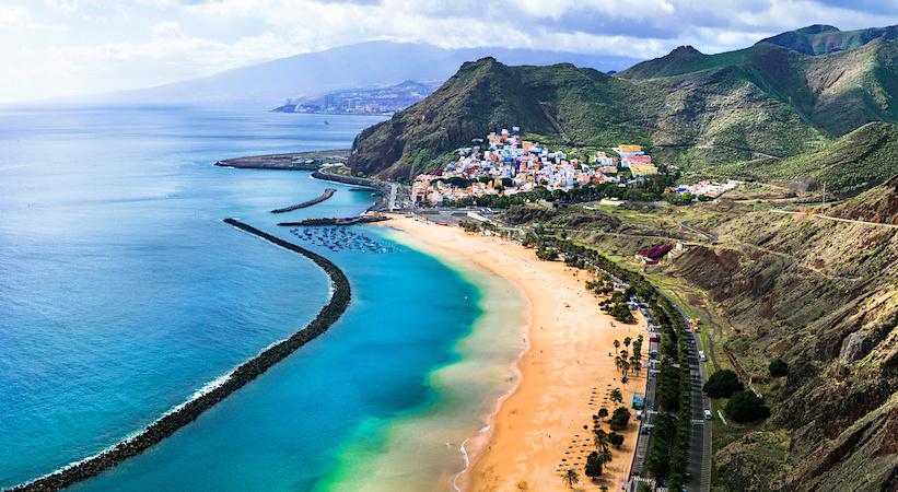Plage d'El Cabezo à Tenerife