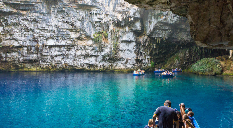 Grottes de Melissani