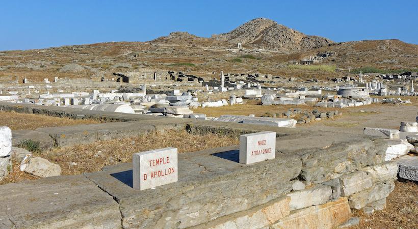 Cité archéologique de Délos