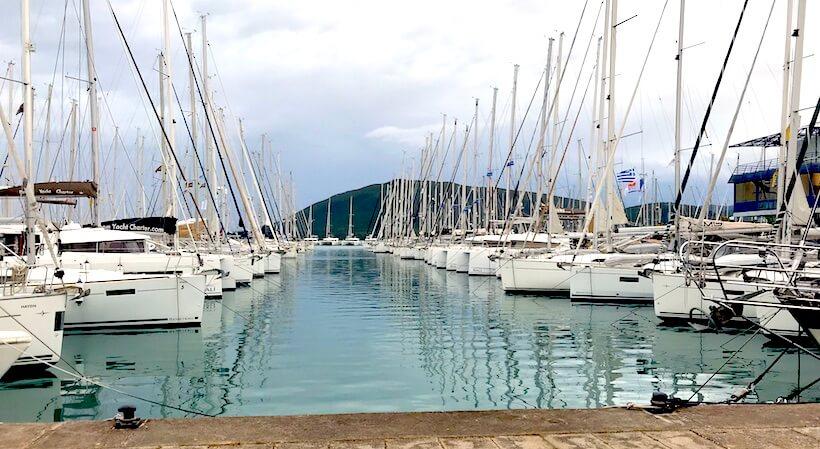 marina de lefkas