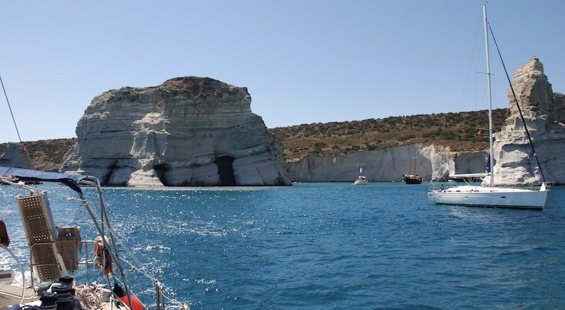 Naviguer en voilier dans les Cyclades