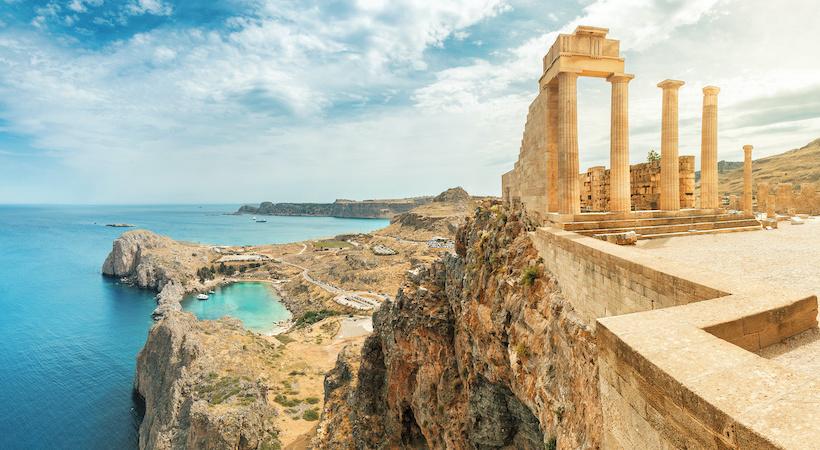 Visiter l'acropole de Lindos à Rhodes