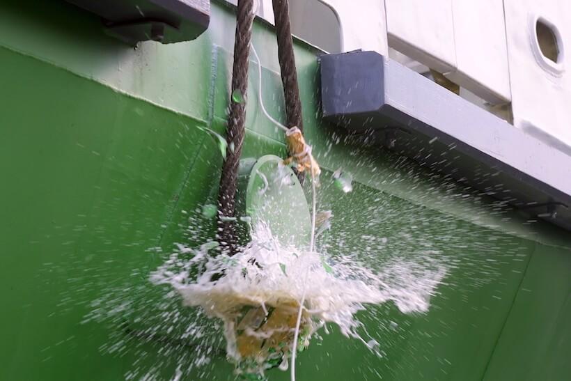 Baptême bouteille bateau