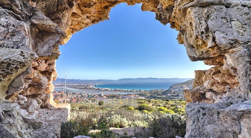 Vue panoramique depuis le Fort di Sant'Ignazio à Cagliari