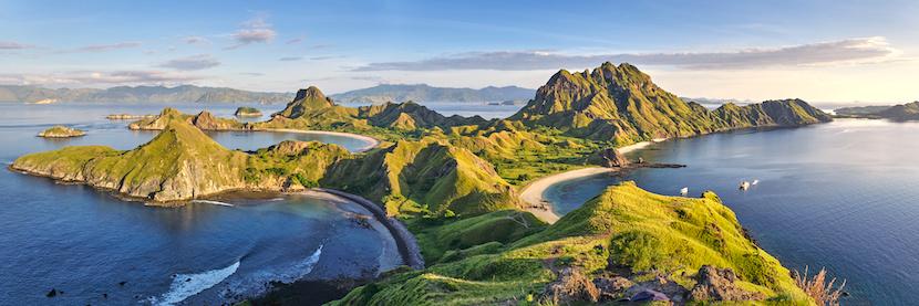 vue panoramique Indonésie