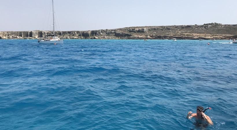 Snorkeling dans les Égades