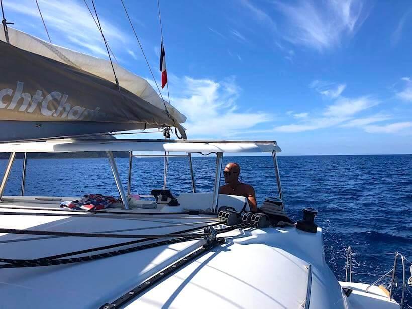Navigazione nelle Isole Eolie