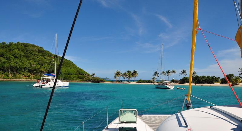 voilier aux Antilles
