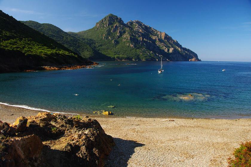 Cala di Tuara Girolata en Corse