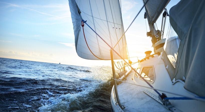 voilier pleine mer
