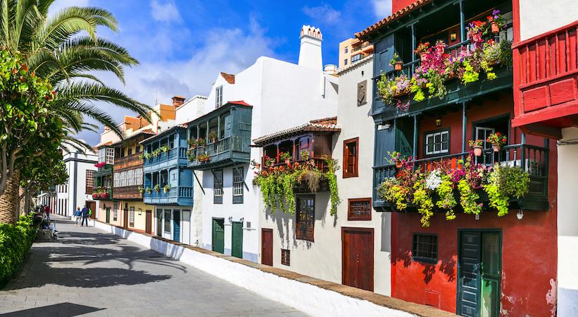 Rues typiques des îles Canaries