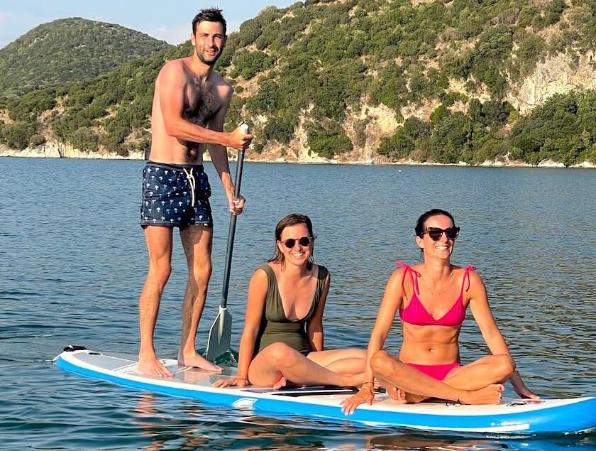 Paddle à Igoumenítsa