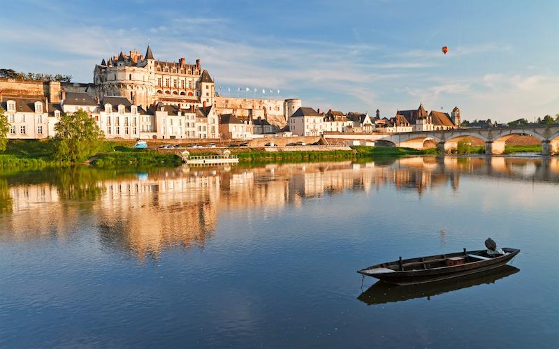 Château d'Amboise sur la Loire