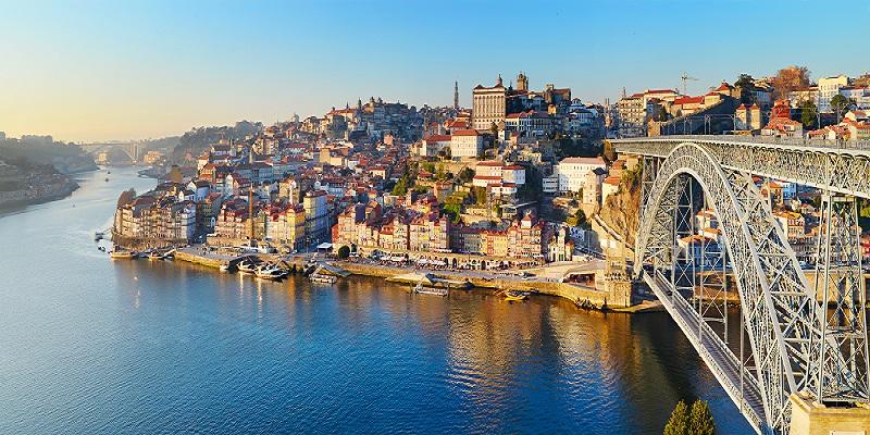Il fiume Duero a Porto
