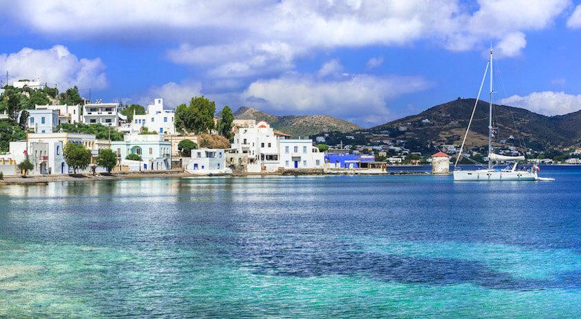 île de Leros dans le Dodécanèse
