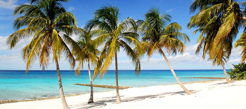 plage à Cuba