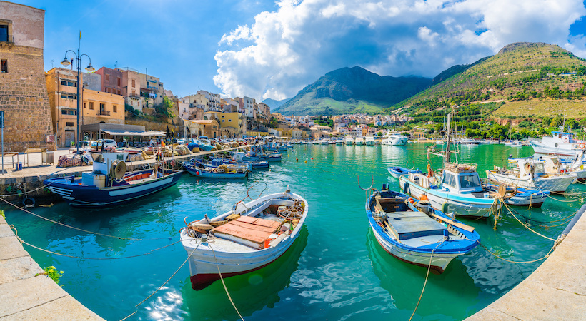 Port de pêcheur de Trapani