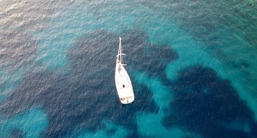 Les eaux de la mer Adriatique