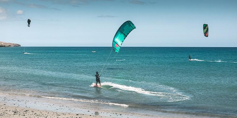 spiaggia kitesurf