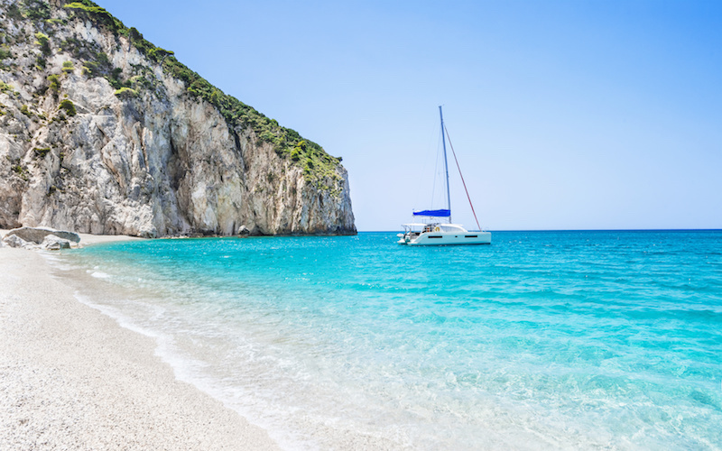 Leucade dans les îles Ioniennes