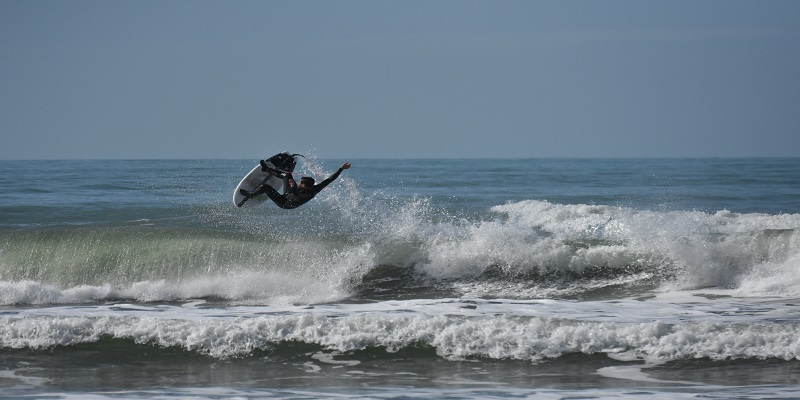surfer in versilia